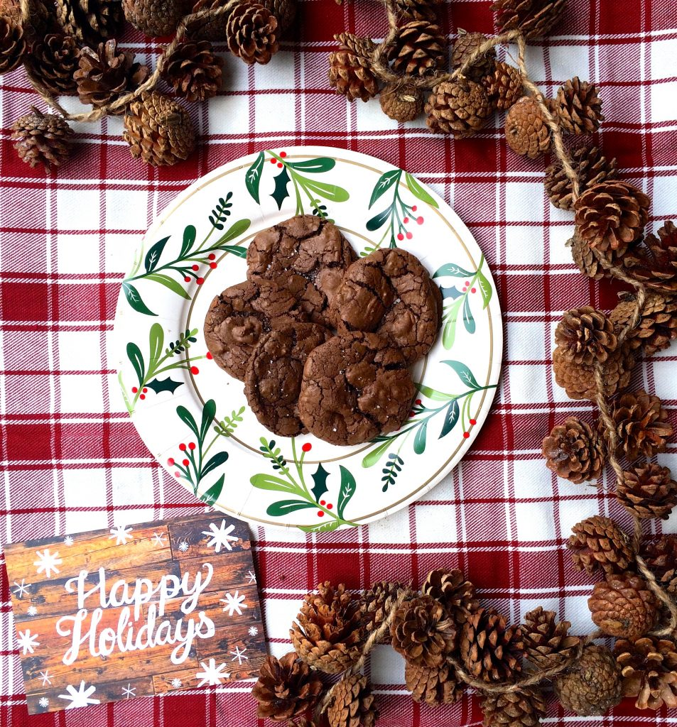 christmas cookie recipe, food blogger cookie swap, expresso cookies