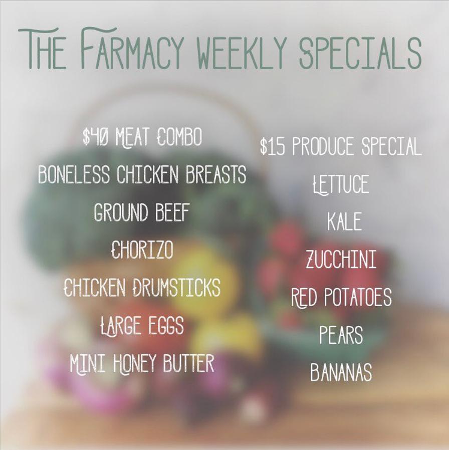 farmacy orlando weekly specials