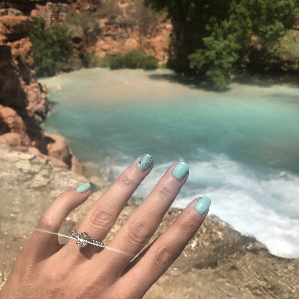 proposal at havasu falls